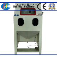 Quality Iron Steel / Plastic Products Industrial Sandblast Cabinet 200kg Net Weight for sale