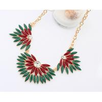 Quality 2014 fashion wholesale water drop resin necklace for sale