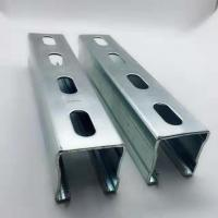 Quality Hot Dipped Galvanized Steel Unistrut Channel Mounting Brackets / Supporting System for sale