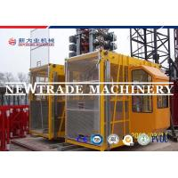 Buy cheap Sc100/100 Elevator Dipping Zinc Construction Hoist Safety , Building Hoist / Elevator from Wholesalers