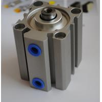 Quality Thin type small pneumatic cylinders Aluminum Alloy , Compact Air Cylinder for sale