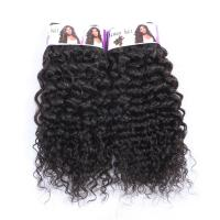Buy cheap Smooth Brazilian Human Hair Kinky Curl weave, Hair Weave Manufacturers, 100 Human Hair from wholesalers