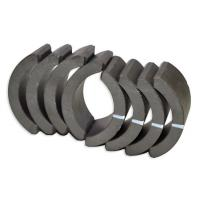 Quality Industrial Sintered Ferrite Arc Magnet , Permanent Rare Earth Ferrite Magnet for sale