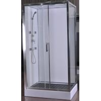 1100 X 800 Rectangle Shower Enclosure Normal Temperature Storage KPN4569