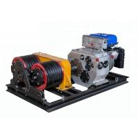 Quality Double Drum JJM5SQ Cable Winch Puller Winch Pulling Rope With 5T Load Capacity for sale