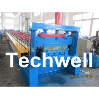 Quality Floor Deck Roll Forming Machine, Decking Sheet Roll Forming Machine for sale