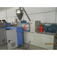High Pressure Extruder : High pressure wood plastic profile extrusion line with wpc