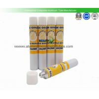 Quality Flexible Empty Aluminium Paint Tubes , Offset Printing Empty Metal Paint Tubes for sale