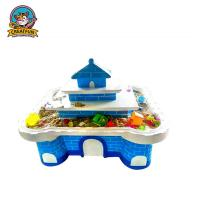 Quality Play House Type Kids Playground Equipment Arts And Crafts Table For Toddlers for sale