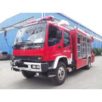 Quality Emergency Fire Rescue Truck ISUZU Heavy Rescuewith 5 Tons XCMG Crane for sale