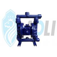 Buy cheap Cast Iron Pneumatic Diaphragm Pump , Dual Diaphragm Air Pump With High Suction Head from Wholesalers