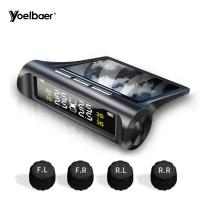 Quality Wireless TPMS Tyre Pressure Monitoring System Solar Energy To Get Electricity for sale