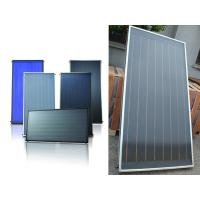 solar water heating flat panel collector
