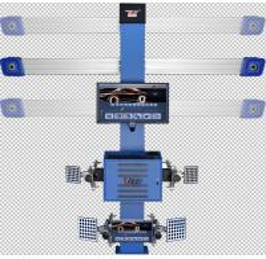 3D Car 4 Wheel Alignment Machine , Automatic Precision Wheel Alignment Balancing Machine
