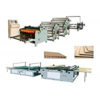 Quality Single Face Carton Corrugated Box Manufacturing Machine Low Electric Consumption for sale