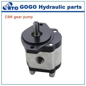 Quality Rotary CE CBK hydraulic gear pump , jcb tractor hydraulic fuel pump for sale