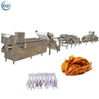 Quality High Efficiency Poultry Processing Machine , Chicken Feet Skin Peeling Machine for sale