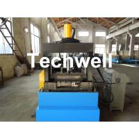 Quality Cable Tray Forming Machine With 18 Groups Forming Roller Stand , Roll Forming Equipment for sale