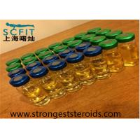 Buy cheap 100Mg / Ml Test Prop Pain Free Mixed Injecting Steroids Test P Yellow Liquid from Wholesalers