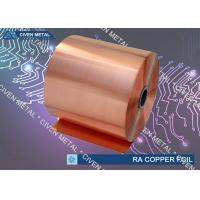 Buy cheap C11000  RA COPPER FOIL  / DEAD SOFT Min 99.99% CU from Wholesalers