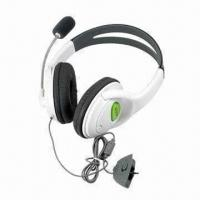 Buy Sensational Headsets/Earphones for XBOX360 Game Accessories, Lightweight and at wholesale prices