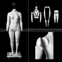 Quality New design window display fat female leg adjustable ghost mannequin for sale