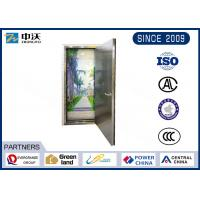 Quality Flat Plate Stainless Steel Fire Rated Doors For Commercial Buildings for sale
