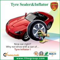 Buy cheap Tubeless Car Tire Sealant / Motorcycle Tire Sealer And Inflator 450ml / 650ml from wholesalers