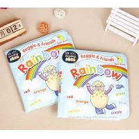 Quality Non-toxic Waterproof and Tearproof EVA Educational Baby Bath Books for sale
