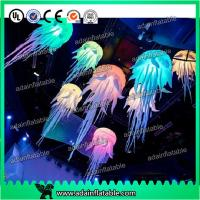 Quality Party Decoration Hanging Inflatable Jellyfish With Lighting for sale
