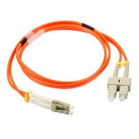 Quality LC Simplex / Duplex Fiber Optic Patch Cord with Low Insertion Loss for sale