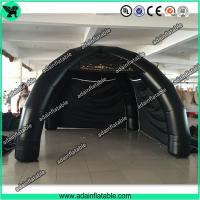 Quality Black Spider Tent Inflatable, Event Advertising 4 legs Inflatable Tent Booth for sale