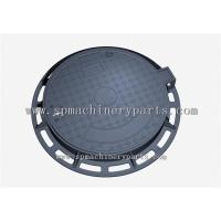 Quality Security Good Quality Round Shape EN124 D400 Cast Iron Sewer Cover On Road for sale