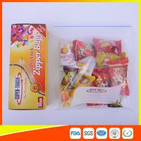 Buy cheap Resealable Clear Ziplock Snack Bags For Food Packaging Eco Friendly from Wholesalers