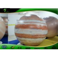Quality Inflatable Advertising Balloons , Inflatable Moon Balloon , pvc Planet Balloon , Inflatable Helium Balloon for sale