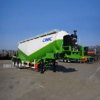 Buy cheap Bulk cement dry powder trailer dry bulk tanker cement powder tankers for sale | from wholesalers