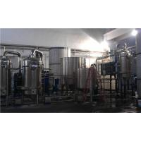 Quality Evaporator Falling Rising Film Multiple Effect Evaporation System For Herb Extraction for sale