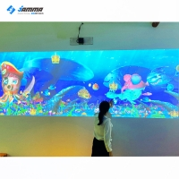 Quality 220V Magical Painting Interactive Projector 3 Games For Child for sale