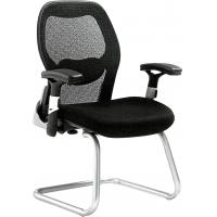 Quality Modern Office Room Chairs , Secretary Ergonomic Mesh Back Chair Custom Color for sale