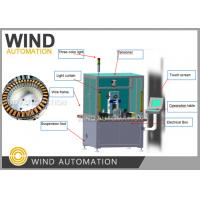 Buy cheap Fully Automatic Motor Winding Machine 8kw Teeth Winding For Coated Stator Stack from wholesalers