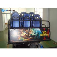 Quality Mobile Amusement 5D Moving Theater , Hydraulic System 5D Cinema Equipment for sale