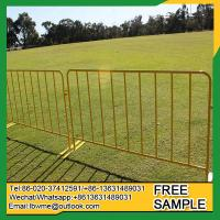 Quality Argoon Powder coated decorative picket steel barrier fence for sale