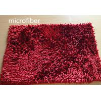 Buy cheap Microfiber Mat Red 40 * 60cm Big Chenille Bathroom Indoor Anti-skid Rubber from Wholesalers