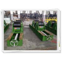 Quality Double Wheel Tank Turning Rolls Lead Screw Adjustable , Pipe Welding Rotator for sale