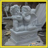 China Little Angel Stone Carvings on sale