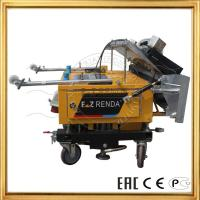 Quality Automatic Wall Plaster Rendering Machine For Cement Paster Construction Machinery for sale