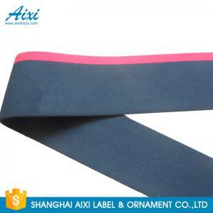 Quality Printed Logo Jacquard Elastic Waistband Men's Underwear Woven Elastic Tape for sale