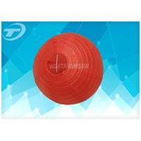 """Quality Plain Colors Hanging Paper Ball Lantern In 8"""" 10"""" 12"""" 14"""" 16"""" for sale"""