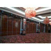 Quality Aluminium Office Partition Acoustic Room Dividers Operable Wall for Restaurant for sale