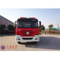 Four Door Structure Fire Fighting Truck 6x4 Drive ISO9001/CCC Foam Fire Truck